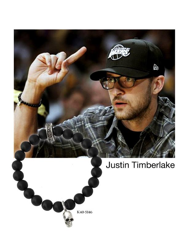Justin Timberlake wears King Baby